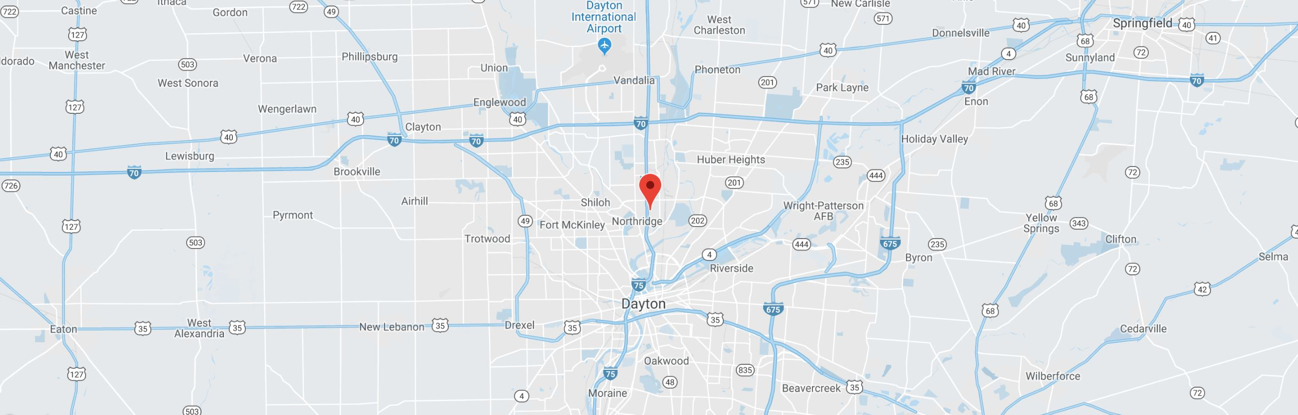 Chak Products is location on map in Dayton,OH