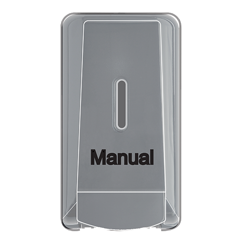 Manual liquid chalk dispenser in black
